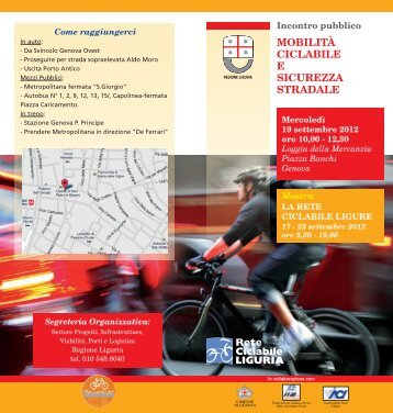 Mobilità ciclabile e sicurezza stradale - Urban Center - Comune di ...