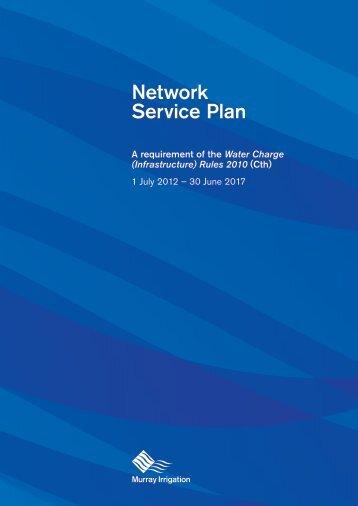 Network Service Plan - Murray Irrigation