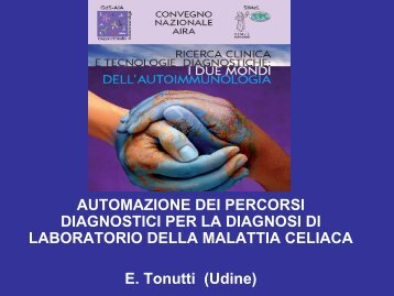 Automazione dei percorsi diagnostici per la diagnosi di ... - Simel