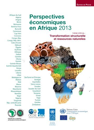 COVER- Pocket Edition AEO2013-FR.indd - African Economic Outlook