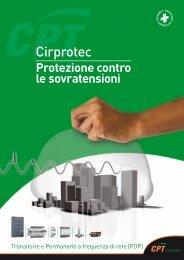 Catalogo generale CIRPROTEC 2011 - Elettro Italia
