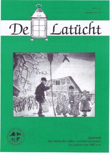 De Latücht Nr. 39 - pdf - de-latuecht.de