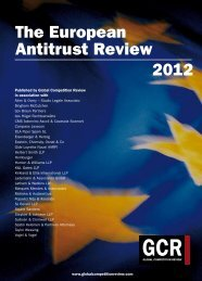 The European Antitrust Review 2012 - Herbert Smith Freehills
