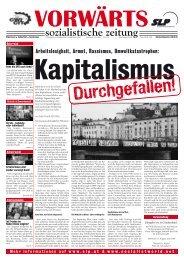 Zeitung der Sozialistischen Linkspartei - SLP
