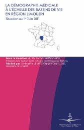 Atlas 2011 de la région Limousin - Conseil National de l'Ordre des ...