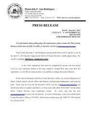 Deadline to register for the April 17, 2012 Special Congressional ...