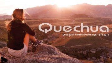 Collection Femme Printemps - Eté 2011 - Quechua Press