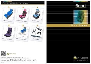 Features of Floor Seater - Blatchford