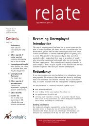 Relate August 2003 (pdf) - Citizens Information Board