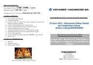 ITI-LEBAS EGYPTE 2012 - ES Voyages et Vacances SA