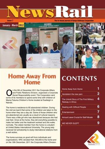 Newsrail Jan-Mar 2012-2.pdf - Kenya Railways Corporation