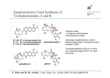 Enantioselective Total Syntheses of Trichodermamides A and B
