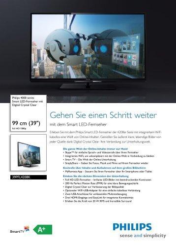 Leaflet 39PFL4208K_12 Released Switzerland (German) High-res ...