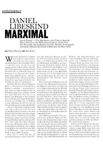 MARXIMAL - Brünnen