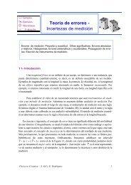 Teoría de errores - Incertezas de medición - Física re-Creativa