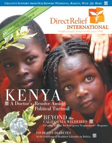 2008 Spring Newsletter - Direct Relief