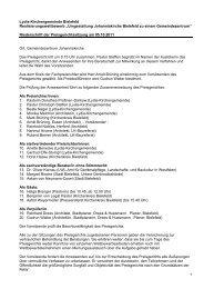 """""""Umgestaltung Johanniskirche Bielefeld zu einem - Competitionline"""