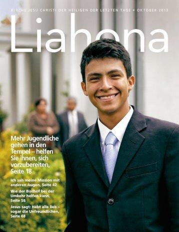 Oktober 2013 Liahona - Kirche Jesu Christi der Heiligen der Letzten ...