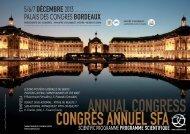 Téléchargez le programme scientifique du Congrès Annuel de la ...