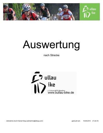45 Km - Bullau Bike