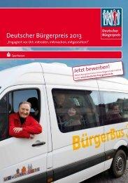 Deutscher Bürgerpreis 2013 - Ehrenamtsagentur Trier