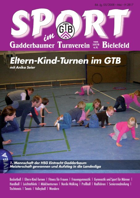 Eltern-Kind-Turnen im GTB - Gadderbaumer Turnverein v. 1878 eV ...