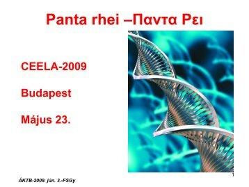 CEELA 2009 Report - Dietvet-Holistic Bevezetés