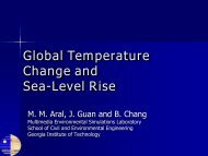 SEA LEVEL RISE_Aral_.. - MESL - Georgia Institute of Technology