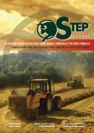 Step Filters Catálogo Habitáculo Agrícola