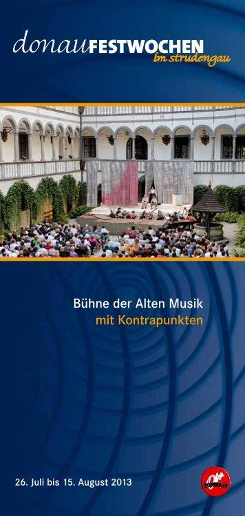 Download PDF Programmfolder2013 ... - Donauradweg