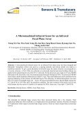 A Micromachined Infrared Senor for an Infrared Focal Plane Array - Page 7
