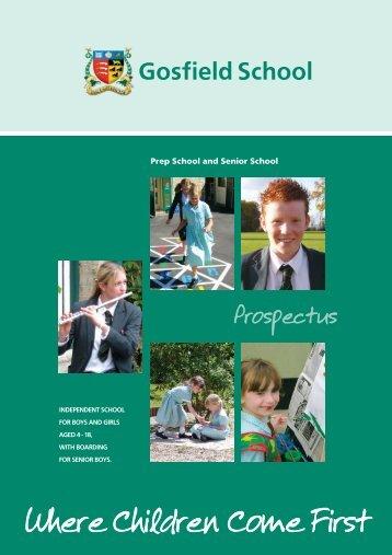 Gosfield_School_Prospectus - School of Educators