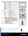 科视Christie FHD551-X - Christie Digital Systems - Page 2