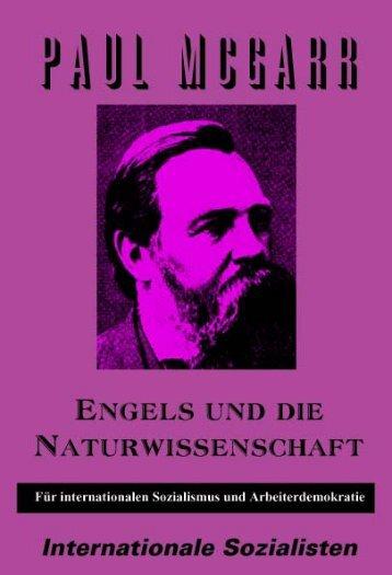 Engels und die Naturwissenschaften - Internationale Sozialisten