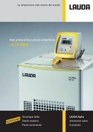 LAUDA Alpha - sicamedicion.com.mx