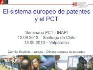 La Oficina europea de patentes - Inapi Proyecta