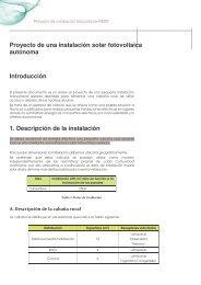 Proyecto de una instalación solar fotovoltaica autónoma ...
