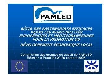 bâtir des partenariats efficaces parmi les municipalités européennes ...