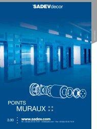 Chapitre Point muraux - Sadev