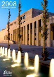 Plano de Atividades e Orçamento 2008 - Câmara Municipal de ...