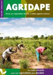 Des sols vivants pour une agriculture plus durable - AgriCultures ...