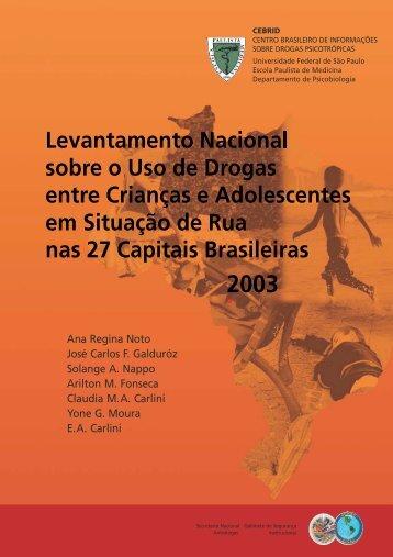 Capa Crianças 2003.cdr - Observatório Brasileiro de Informações ...
