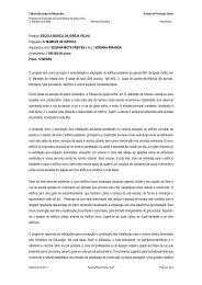 Memória Descritiva (completa) - CM Matosinhos