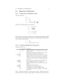 0.1 Spherical Cylindricals
