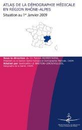 Atlas de la région Rhône-Alpes - Conseil National de l'Ordre des ...