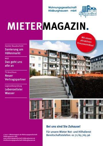 Ausgabe 1/2012 - Wohnungsgesellschaft Hildburghausen