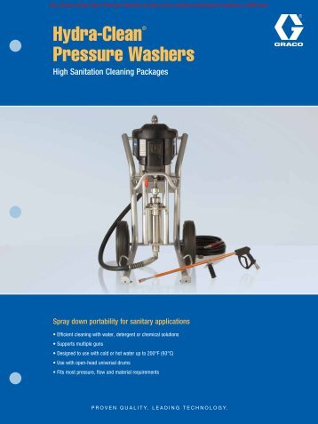 Hydra-Clean Product Brochure - MRO Stop