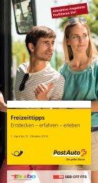 Freizeittipps Sommer 2013 - Ausflüge in der Ostschweiz ... - PostBus
