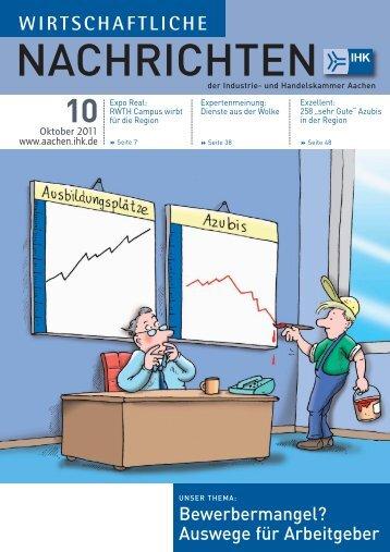 Wirtschaftliche Nachrichten Oktober 2011 - knowlinx