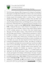 Reunião CEPG - Escola Paulista de Medicina
